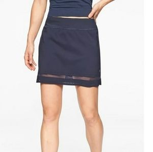 Athleta Laser Run Skort In Navy Size XL